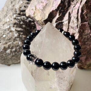 Black Tourmaline Crown