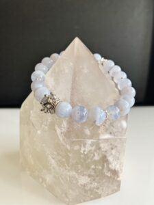 Blue Lace Silver Crown